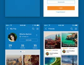nº 2 pour Design for travel planning site (landing page and initial interaction) par AtomKrish