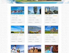 nº 4 pour Design for travel planning site (landing page and initial interaction) par webidea12