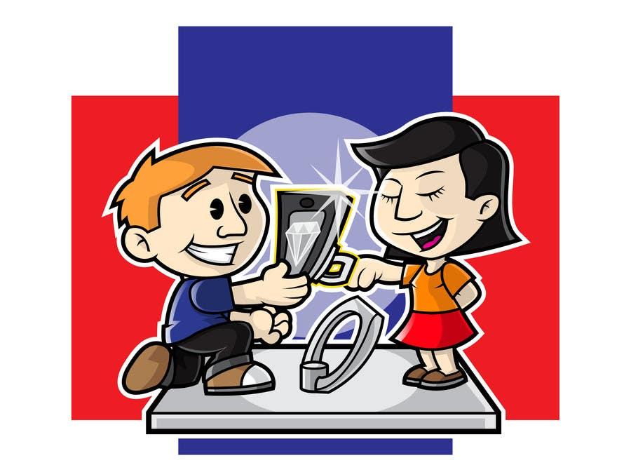 Participación en el concurso Nro.23 para Amazring Consumer Usage Illustration!