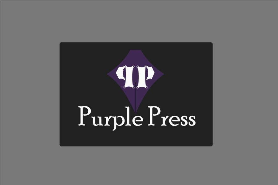 Konkurrenceindlæg #                                        25                                      for                                         Design a Logo for Purple Press