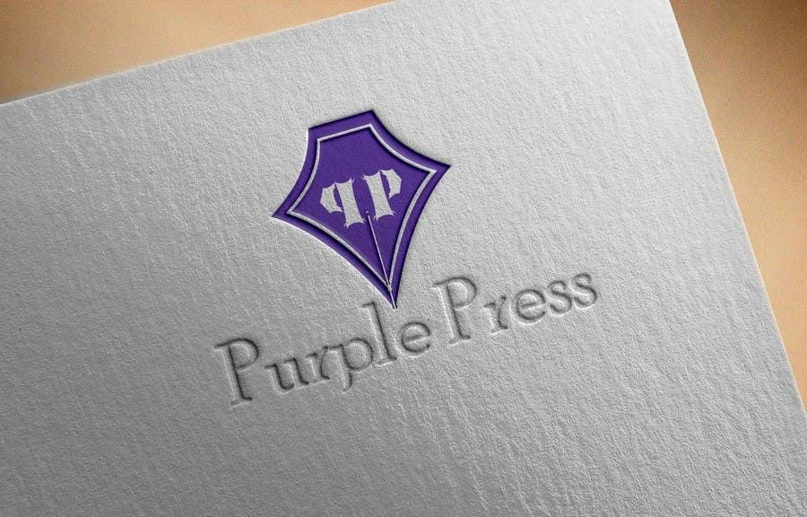 Konkurrenceindlæg #                                        35                                      for                                         Design a Logo for Purple Press