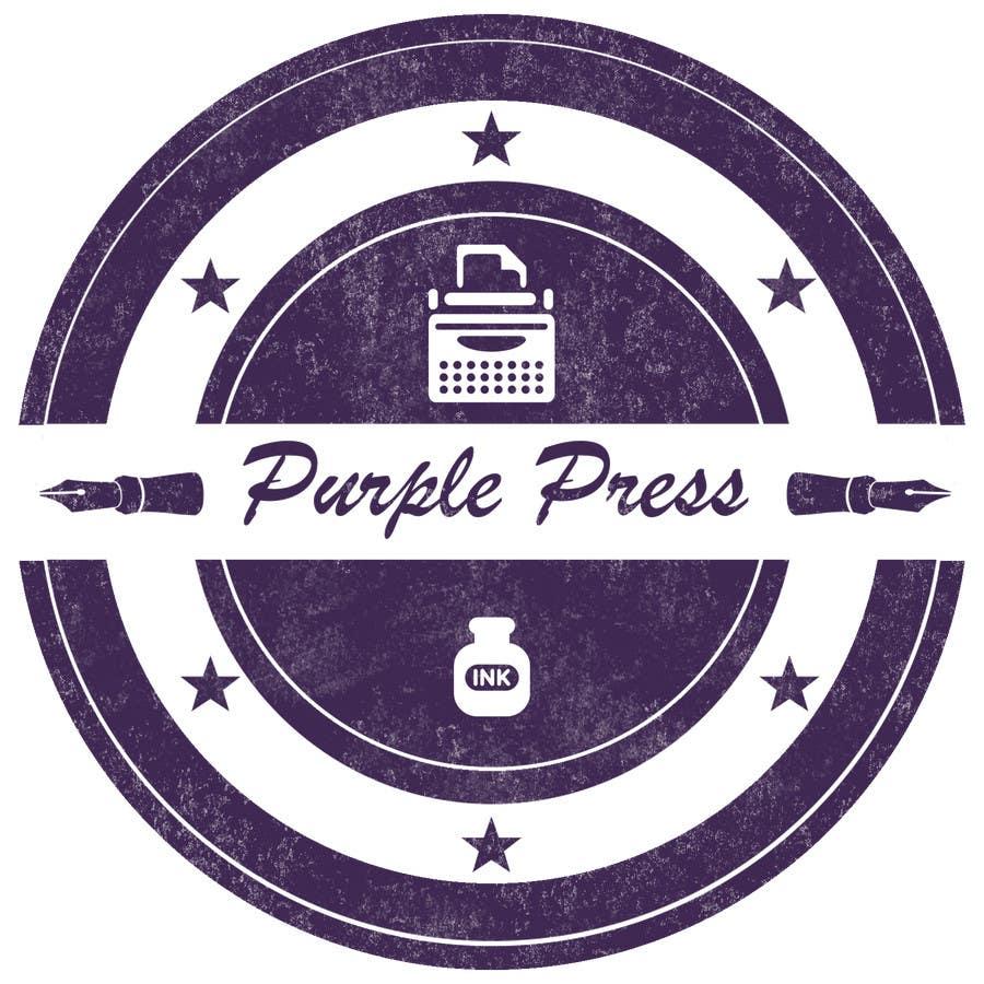 Konkurrenceindlæg #                                        29                                      for                                         Design a Logo for Purple Press