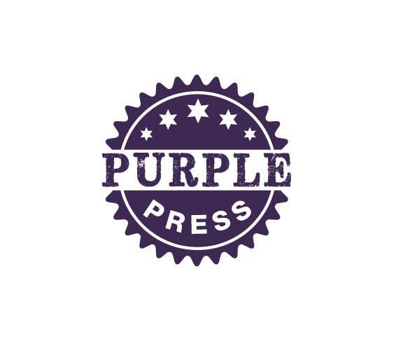 Konkurrenceindlæg #                                        12                                      for                                         Design a Logo for Purple Press