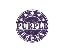 #39 för Design a Logo for Purple Press av rangathusith