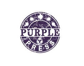 #64 för Design a Logo for Purple Press av rangathusith