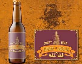 Nro 45 kilpailuun Logotipo for craft beer brand - DONA JÚLIA käyttäjältä mvd41