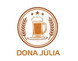Nro 46 kilpailuun Logotipo for craft beer brand - DONA JÚLIA käyttäjältä khurshida5643