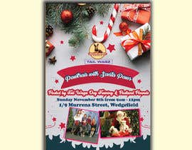 Nro 55 kilpailuun Brochure to advertise dog christmas event käyttäjältä zebasamiha890