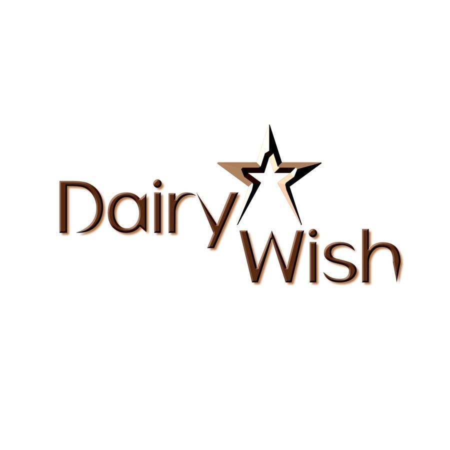 Inscrição nº                                         183                                      do Concurso para                                         Logo Design for 'Dairy Wish' Chocolate brand