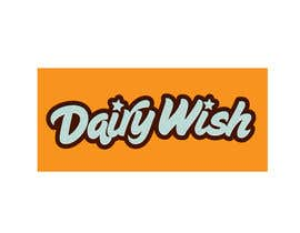 #32 untuk Logo Design for 'Dairy Wish' Chocolate brand oleh maidenbrands