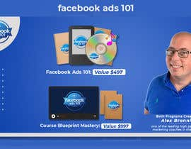 #33 untuk Website Banner for FB Ads 101 and Online Course Blueprint Course oleh mdfarhad9894