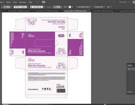 #75 untuk Nitrile Gloves Box packaging oleh MDJillur