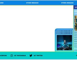 Nro 74 kilpailuun OBS Overlay for Facebook Live/Twitch Streaming käyttäjältä psychok1ng