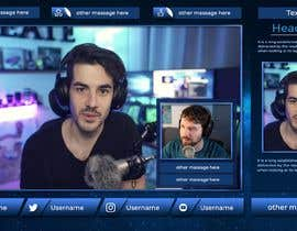 #135 untuk OBS Overlay for Facebook Live/Twitch Streaming oleh Mohamedshandidy1