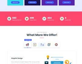#48 for Wordpress homepage design by Abdullah12152