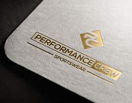 Nro 987 kilpailuun Sportswear Logos - Performance Crew Sportswear käyttäjältä SHOJIB3868