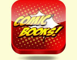 #56 cho Icon or Button Design for iOS comic book icon bởi Tatan22