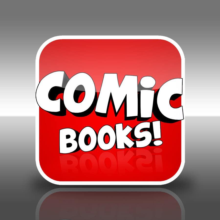 Inscrição nº                                         17                                      do Concurso para                                         Icon or Button Design for iOS comic book icon