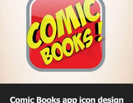 #20 cho Icon or Button Design for iOS comic book icon bởi dirav
