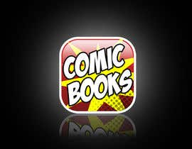 #46 untuk Icon or Button Design for iOS comic book icon oleh QueLab