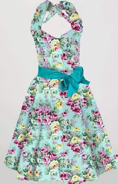 Penyertaan Peraduan #                                        5                                      untuk                                         Create design for printing onto Fabric for womens dresses