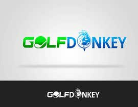 #51 para Design a Logo for Golf Donkey por nyomandavid