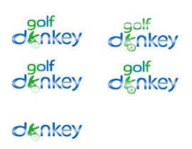 #39 para Design a Logo for Golf Donkey de hoangtknt