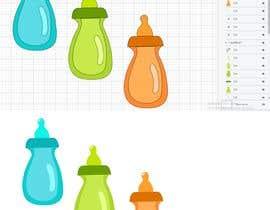 Nro 4 kilpailuun Original Clipart Design, Baby Clipart käyttäjältä shiblee10