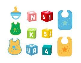 Nro 56 kilpailuun Original Clipart Design, Baby Clipart käyttäjältä sdesignworld