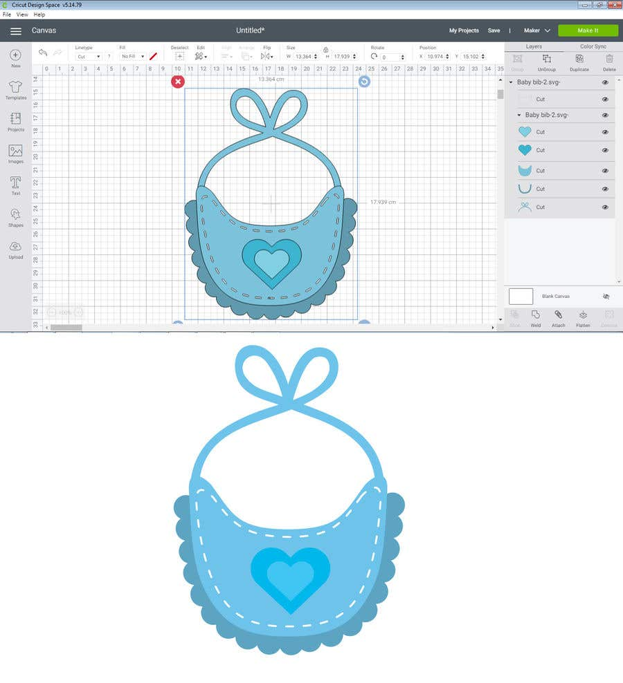 Kilpailutyö #                                        48                                      kilpailussa                                         Original Clipart Design, Baby Clipart