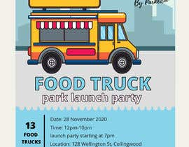 #1 for A6 event invitation for food truck launch party by Naima181