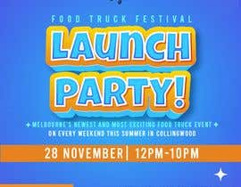 #7 for A6 event invitation for food truck launch party by bragadomariel22