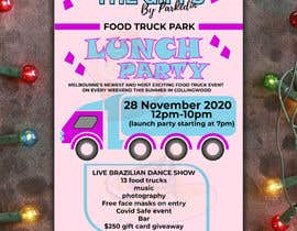 #14 for A6 event invitation for food truck launch party by mijan2021
