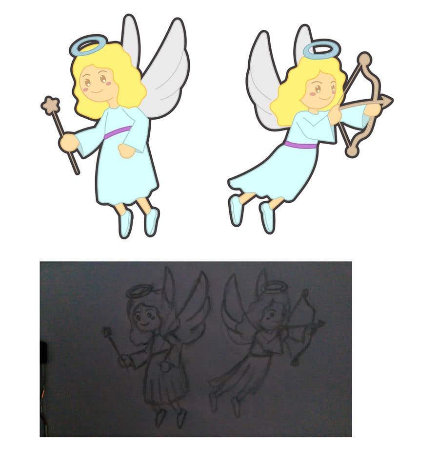 Contest Entry #                                        23                                      for                                         Original Clipart Design, Christmas Star, Angel, Mittens
