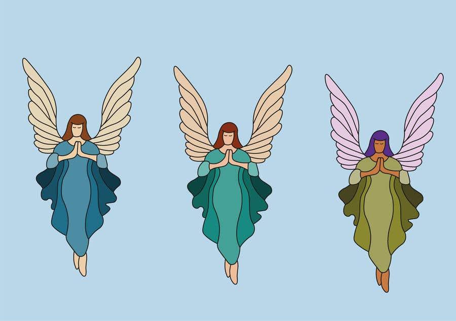 Contest Entry #                                        13                                      for                                         Original Clipart Design, Christmas Star, Angel, Mittens