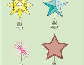 #30 for Original Clipart Design, Christmas Star, Angel, Mittens by fadilox