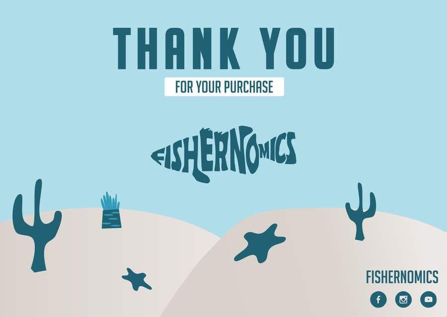 Penyertaan Peraduan #                                        48                                      untuk                                         Help design my thank you card for Amazon