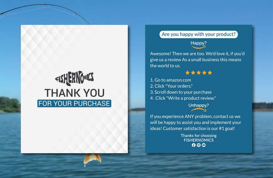 Penyertaan Peraduan #                                        29                                      untuk                                         Help design my thank you card for Amazon