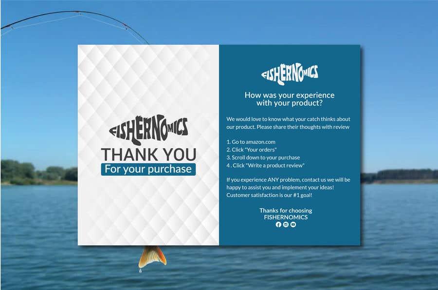 Penyertaan Peraduan #                                        46                                      untuk                                         Help design my thank you card for Amazon