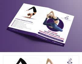#77 for Design a clean yoga teacher brochure by dnamalraj