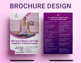 #35 for Design a clean yoga teacher brochure by imranislamanik