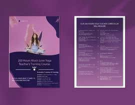 #72 for Design a clean yoga teacher brochure by fojlerabbi000
