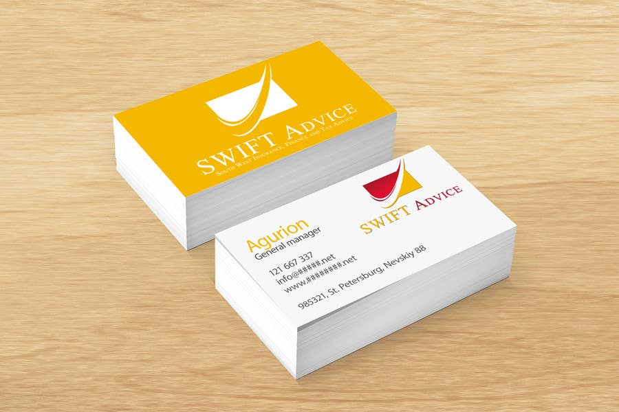 Participación en el concurso Nro.84 para Design some Stationery for New Business: SWIFT Advice