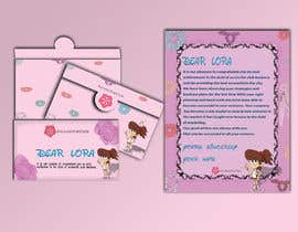 #37 for Letter Template & Hair Scrunchie Packaging by Rajumullah100