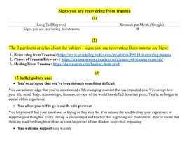 MHTipu7 tarafından Virtual Assistant:  Research + Writing Project için no 3