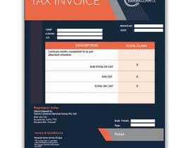 #35 for Xero invoice template by imranislamanik