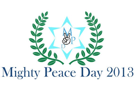 #8 for Logo Design for Mighty Peace Day 2013 by shouravilu