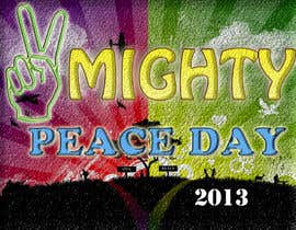 nº 29 pour Logo Design for Mighty Peace Day 2013 par monuch2001