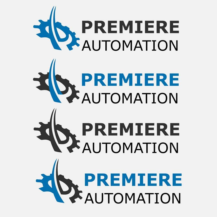 Contest Entry #                                        12                                      for                                         Premiere Automation Logo