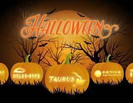 #57 cho Halloween pumpkin carved logo bởi AlexeCioranu